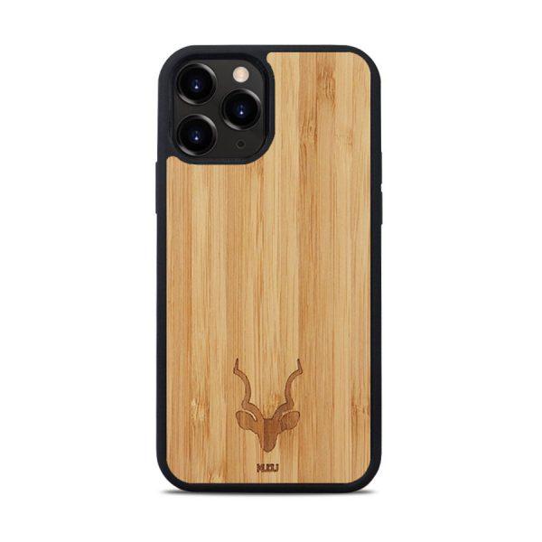 iPhone 12 Pro Max hoesje - Hout - Kudu