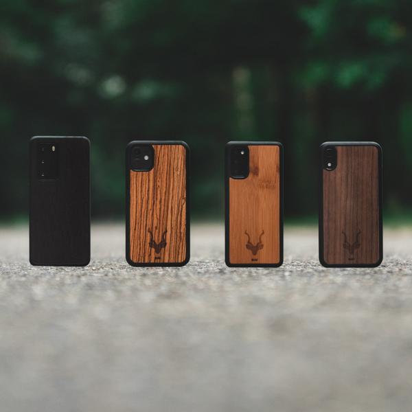 Houten telefoonhoesje - iPhone - Samsung - Huawei