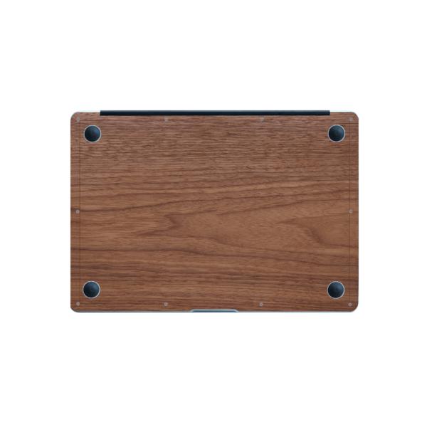 Onderkant - MacBook skin - Hout - Kudu
