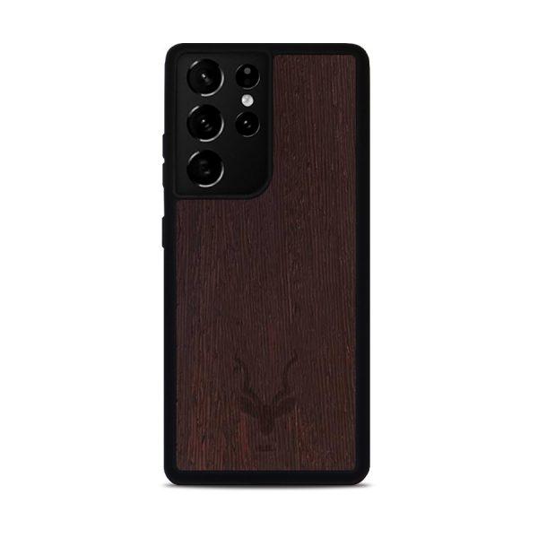 Samsung Galaxy S21 Ultra hoesje - Hout - Kudu