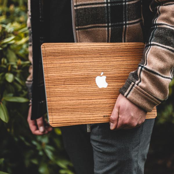 Houten MacBook skin - Kudu