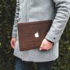 Houten MacBook skin Wrap M1