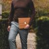 Houten MacBook Air/Pro hoesjes - Skin - Sticker - Kudu